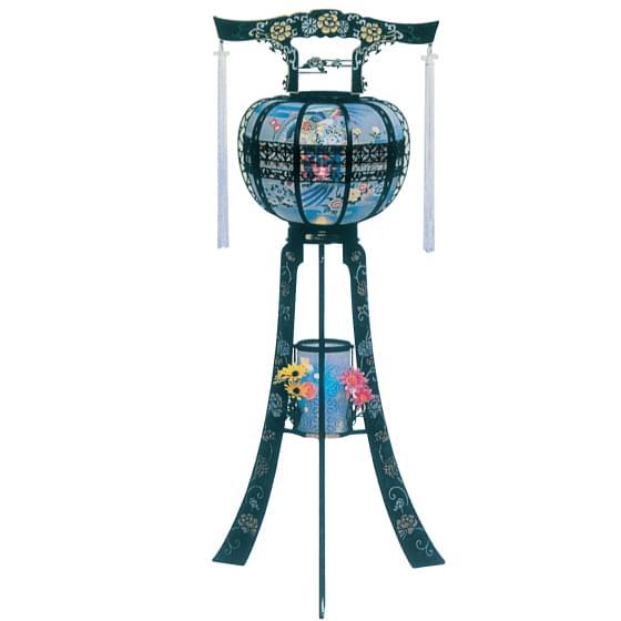 信明灯25号(高さ124cm)二連式